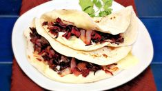Did you know that you can use hibiscus flowers for more than agua fresca or tea? The re-hydrated hibiscus flower is completely edible. It can be used for salads and stews, but my favorite way to enjoy hibiscus flower is in quesadillas. The flower is a little bitter, so I like to combine it with the natural sweetness of caramelized onions. To enhance the flavor even more, I add chipotle pepper in adobo sauce to give a light touch of spice and smoke to the recipe. If you have never tried...