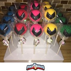 Hey, I found this really awesome Etsy listing at https://www.etsy.com/listing/492349373/power-ranger-cake-pops