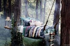 Now, I would sleep here for a different experience!! I would feel like Titania from a Midsummer Nights dream :)