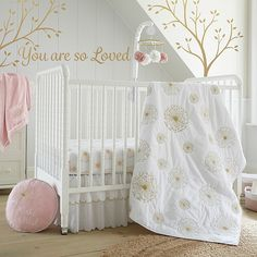 Shop for baby girl crib bedding sets at Bed Bath & Beyond. Buy top selling products like Levtex Baby® Elise Crib Bedding Collection and Levtex Baby® Fiori Crib Bedding Collection. Girl Crib Bedding Sets, Girl Cribs, Crib Sets, Baby Bedding, Levtex Baby, Baby Room Decor, Baby Rooms, Baby Bedroom, Girl Room