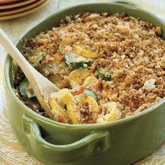 first recipe on the list for turkey day 2011...squash casserole...mmmm