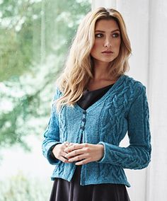 """Gyda by Linda Marveng  ..................  Divine!! It states that it is now in English on the blog site.  Knit bottom up in a Sport 5ply. Sized: Bust: 84 (91, 98, 106, 116, 126) cm/33 (35.75, 38.5, 41.75, 45.75, 49.5)"""""""