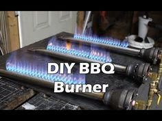 In this video I show you how to make a BBQ burner from scratch. This burner can be used as a replacement for a BBQ or grill burner that has burned out or can. Gas Bbq, O Gas, Outdoor Oven, Outdoor Cooking, Outdoor Kitchens, How To Make Bbq, Diy Grill, Wood Fired Oven, Rocket Stoves