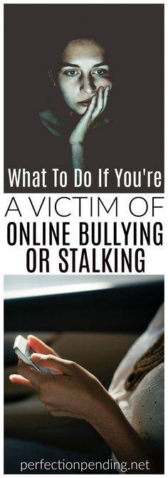 It's not just teens and kids that get bullied online. Adults can be stalked and bullied online, too. If you're being harassed, stalked, or bullied online, you need to know what you can do to protect yourself, and what the laws are. #stalking #bullying #cyberbullying #onlinebullying #stalker #cyberlaws