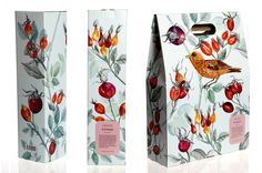 By Emma Löfström such pretty flora and fauna #packaging PD