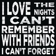 Love the nights Friends wooden wall sign 30 x 30 cm: Amazon.co.uk: Kitchen & Home