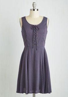 Saving Laces Dress. If youre unsure of what to don for your upcoming afternoon outing, you need not look further than this alluring A-line frock! #multi #modcloth