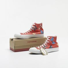 DAMIEN HIRST  Chuck Taylor All Star shoes  Converse  United Kingdom, 2010