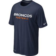 Nike Denver Broncos Sideline Legend Authentic Font Dri-FIT T-Shirt – Team Color - NFLShop.com
