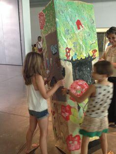 Xup-xup creatiu d'estiu: Col·locant l'arbre central de la canòpia