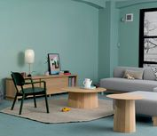 Wood Table, Dining Table, Low Chair, Wood 8, Avenue Design, Lounge, Interior, Furniture, Color