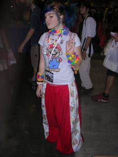 i remember when i used to dress like this 24/7