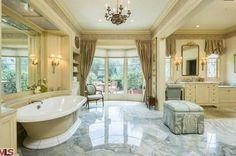 Christina Aguilera's house in Beverly Hills CA (11). I can't even imagine.
