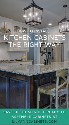 How To Install Kitchen Cabinets Lily Ann