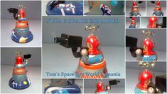 XUFA 5 SPACE EXPLORER CAMERA MAN ROBOT