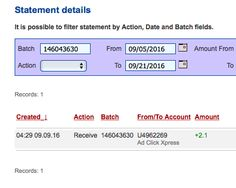 ACX is the MOST POWERFUL & SIMPLEST PROGRAM ONLINE! New 30/70 Rule GUARANTEES... Here is my Withdrawal Proof from AdClickXpress. I get paid daily and I can withdraw daily. Online income is possible with ACX, who is definitely paying - no scam here.I WORK FROM HOME less than 10 minutes and I manage to cover my LOW SALARY INCOME. https://twitter.com/stefanijastef/status/778240762039377920