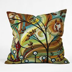 DENY Designs Home Accessories | Madart Inc Fall Colors Throw Pillow