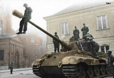Tiger 2 defending Eastern Europe