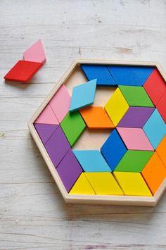 jouets bois, puzzle en bois                                                                                                                                                     Plus