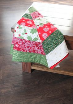 Christmas Tree Skirt Quilted By TigerLilyL