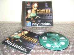 TOMB RAIDER III 3 - PS1 ps2 ps3 playstation - ITALIANO - Prima Stampa