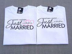 bride & groom t shirts - Google Search