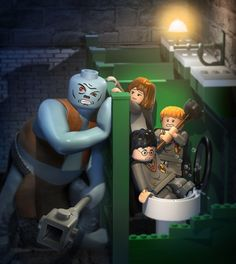 Lego Harry Potter  Amazing 3d Illustrations by Albert Co