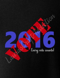 VOTE 2016 (2017, 2018, 2019, 2020) cut file for Silhouette and Cricut  Spread the word, Every VOTE 2016, Every Vote Counts!  Years through 2020 are included.  Included in the zip download are SVG, Studio V3, JPG, PDF and PNG formats.  Registration marks are included to help with alignment.  I personally have a Silhouette Cameo, and have limited knowledge of Design Space, and other cutting software, but will help in any way I can. Please feel free to contact me with any questions.  By…