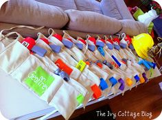 DIY tool belts for the kids looks like fun :) This blog is really neat too!  @Sara Eriksson Balsmeyer @Angela Gray LaMunyon