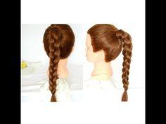 Tutorial capelli: Treccia Francese 3D | 3D French Braid | Argentealo - YouTube