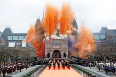 Queen Beatrix reopens the Rijksmuseum in Amsterdam after a renovation that took nearly 10 years to complete. #greetingsfromnl