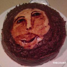 funny cake-it's art Skowronek Cakes To Make, How To Make Cake, Funny Cake, Chocolate Espresso, Chocolate Cake, Happy Birthday Jesus, Cake Wrecks, Food Humor, Celebration Cakes
