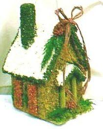 Ho, ho, ho - birds like edible birdhouses for Christmas gifts, too!