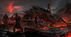 Dragon Poachers by JonasDeRo.deviantart.com on @DeviantArt