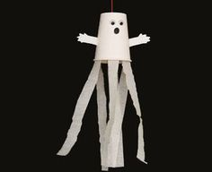 paper cup ghost from the net somewhere