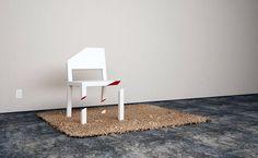 Cut #chair