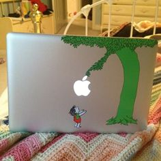 The Giving Tree MacBook Decal - Take My Paycheck - Shut up and take my money! | The coolest gadgets, electronics, geeky stuff, and more!