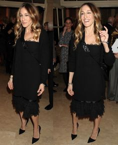 Sarah Jessica Parker at the 28th Academy of the Arts Lifetime Achievement Awards to benefit Guild Hall of East Hampton held at the Plaza in New York City on March 4, 2013