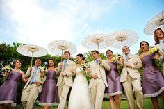 vintage summer wedding