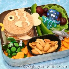 Fish Themed Ocean Kids Lunch