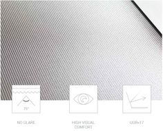 """Prismatic Led panel,  Micro prismatic Led Panel is fitted with the latest """"Glareless"""" panel, which consists of a special prismatic 3 layer screen that harvests 20% more of the flux emitted and reduces glare, ensuring that a UGR value < 17. Optimal visual comfort and no flickering make Panel Led devices suitable for illuminating environments dedicated to professional activities. UGR<17 IP40 IK03"""