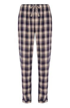 Primark - Navy Check Pyjama Bottoms