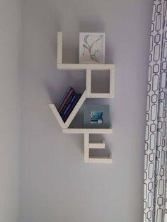 New Bathroom Closet Diy Accent Walls Ideas Creative Bookshelves, Bookshelf Design, Wall Shelves Design, Unique Furniture, Furniture Design, Bathroom Shelf Decor, Bathroom Closet, Diy Home Decor, Room Decor
