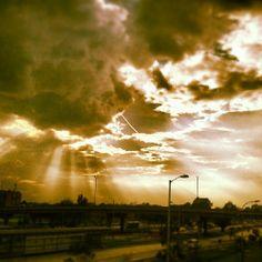 Segunda forma. #cielo #avenida #elDorado #Bogotá #sky #Colombia #nube #cloud