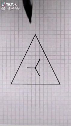 Graph Paper Drawings, Graph Paper Art, Art Drawings Sketches Simple, Pencil Art Drawings, Easy Drawings, 3d Art Drawing, Geometric Drawing, Geometric Art, Simple Geometric Pattern