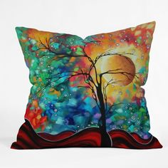 DENY Designs Home Accessories | Madart Inc Bursting Forth Throw Pillow
