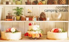 Love these Quirky Camping Details for your Mountain Wedding! http://mammothmountain.com/weddings #mammothweddings #mammothstories