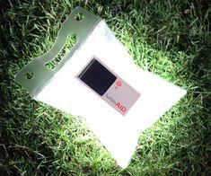 LuminAID - Solar-Powered Inflatable Light | DudeIWantThat.com