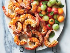 Healthy Dinner Recipes With Shrimp For Teens - 45 healthy shrimp recipes - cooking light Week Of Healthy Meals, Healthy Meal Prep, Healthy Recipes, Healthy Eating, Weeknight Recipes, Healthy Fruits, Skinny Recipes, Easy Recipes, Healthy Snacks