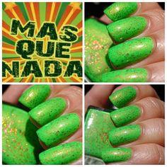 Mas Que NadaBeachClub Summer Collection Neon Green Crelly